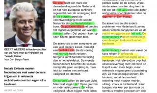 Is Geert Wilders wel populistisch?