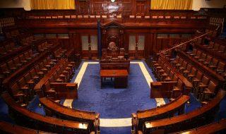 De Dáil, het Ierse lagerhuis