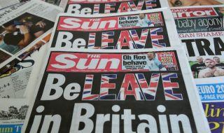 Is Brexit de schuld van de media?