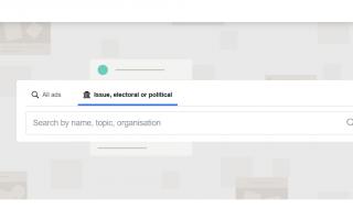 Transparantie rond digitale politieke advertenties laat te wensen over